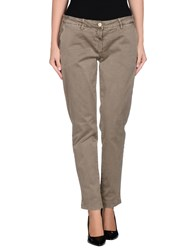 Shaft Trousers Casual Trousers Women Khaki