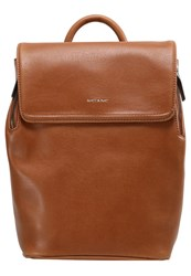 Matt And Nat Fabi Mini Rucksack Chili Cognac