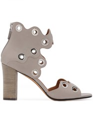 Derek Lam Studded Sandals Women Calf Leather Leather 39 Grey