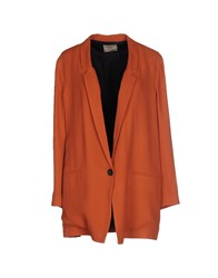 Attic And Barn Attic And Barn Suits And Jackets Blazers Women Brown