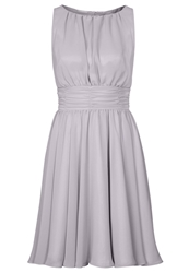 Swing Cocktail Dress Party Dress Grau Taupe