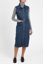 Acne Studios Genta Denim Dress Blue