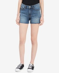 Calvin Klein Jeans Cutoff Denim Shorts River Blue