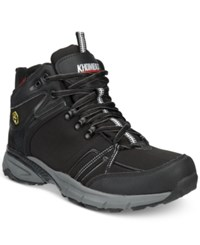 Khombu Men's Spree Lightweight Waterproof Hiker Boots Men's Shoes Black