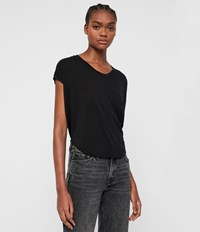 Allsaints Brea Gem T Shirt Black