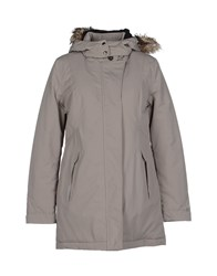 Geox Coats And Jackets Coats Women Grey