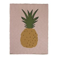 Ferm Living Knitted Fruiticana Baby Blanket Pineapple
