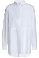 Charli Cotton Poplin Shirt White