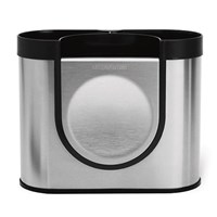 Simplehuman Brushed Steel Utensil Holder