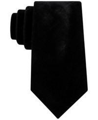 Sean John Men's Velvet Tie Black