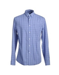 Elie Tahari Long Sleeve Shirts Azure