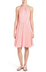 Women's Vineyard Vines Print Silk Halter Dress