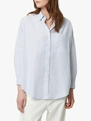 French Connection Lilla Straight Pocket Shirt Blue