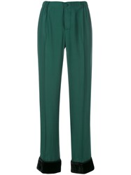 F.R.S For Restless Sleepers Draped Pyjama Trousers Green