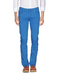 Harmont And Blaine Casual Pants Pastel Blue