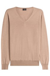 Jil Sander Pullover With Wool And Silk Camel