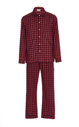 Sleepy Jones Washed Plaid Pajama Set