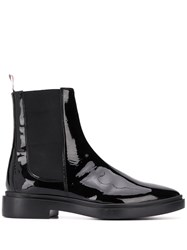Thom Browne Soft Leather Chelsea Boot Black