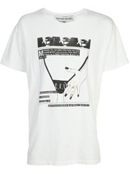 Enfants Riches Deprimes Printed T Shirt White