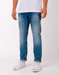 Only And Sons Weft Medium Blue Jeans