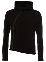 Ann Demeulemeester Asymmetric Zipper Jacket Black