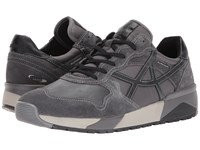 Allrounder By Mephisto Speed Zinc Suede T Vintage Lace Up Casual Shoes Gray
