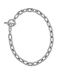 Chain Link Toggle Necklace Women's Rose Gold Michael Kors