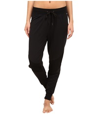 Zobha Wesley French Terry Jogger Black Women's Workout