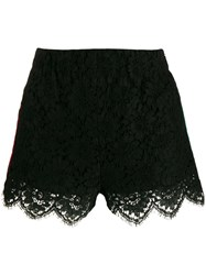 Gucci Lace Trimmed Shorts Black