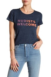 Mother Itty Bitty Goodie Goodie Tee Blue