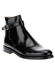 Church's Buckled Ankle Boots Black