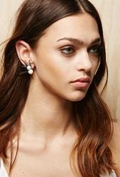 Forever 21 Amber Sceats Liberty Ear Cuff Silver