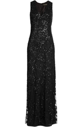 Jenny Packham Embellished Floor Length Dress
