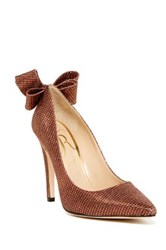 J. Renee Kete Bow Stiletto Multiple Widths Available Red