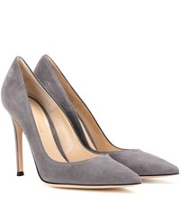Gianvito Rossi 105 Suede Pumps Grey