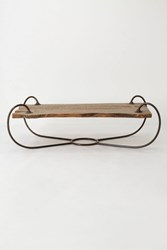 Anthropologie Monarch Coffee Table Small Rectangle Brown
