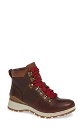 Bionica Dalton Lace Up Boot Whiskey Leather