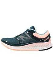 New Balance W1080by7 Neutral Running Shoes Pink Silver