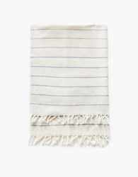 Minna Simple Stripe Towel White