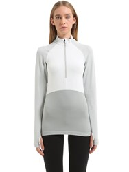 Falke Half Zip Long Sleeve Shirt Ski Top