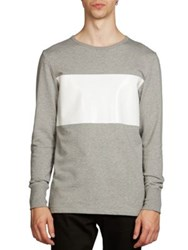 Acne Studios Finish Rugby Sweatshirt Grey