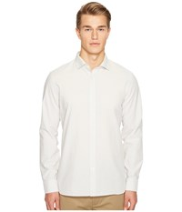 Jack Spade Chambray Spread Collar Shirt Natural Men's Clothing Beige
