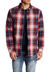 O'neill Crowne Faux Shearling Lined Plaid Flannel Regular Fit Shirt Multi