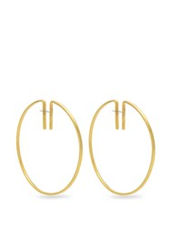 Fay Andrada Rako Brass Earrings Gold