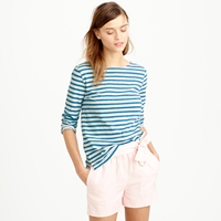 J.Crew Striped Boatneck Tee