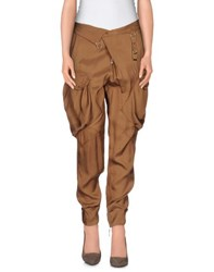 High Trousers Casual Trousers Women Camel