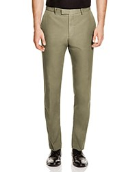 Hardy Amies Slim Fit Trousers Olive