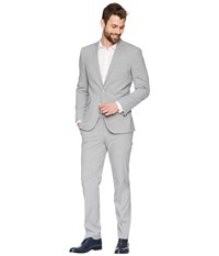 Kenneth Cole Reaction Stretch Slim Fit Performance Suit Grey Suits Sets Gray