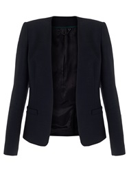 Jigsaw Edge To Edge Jacket Navy
