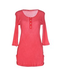 Galliano Topwear T Shirts Women Coral